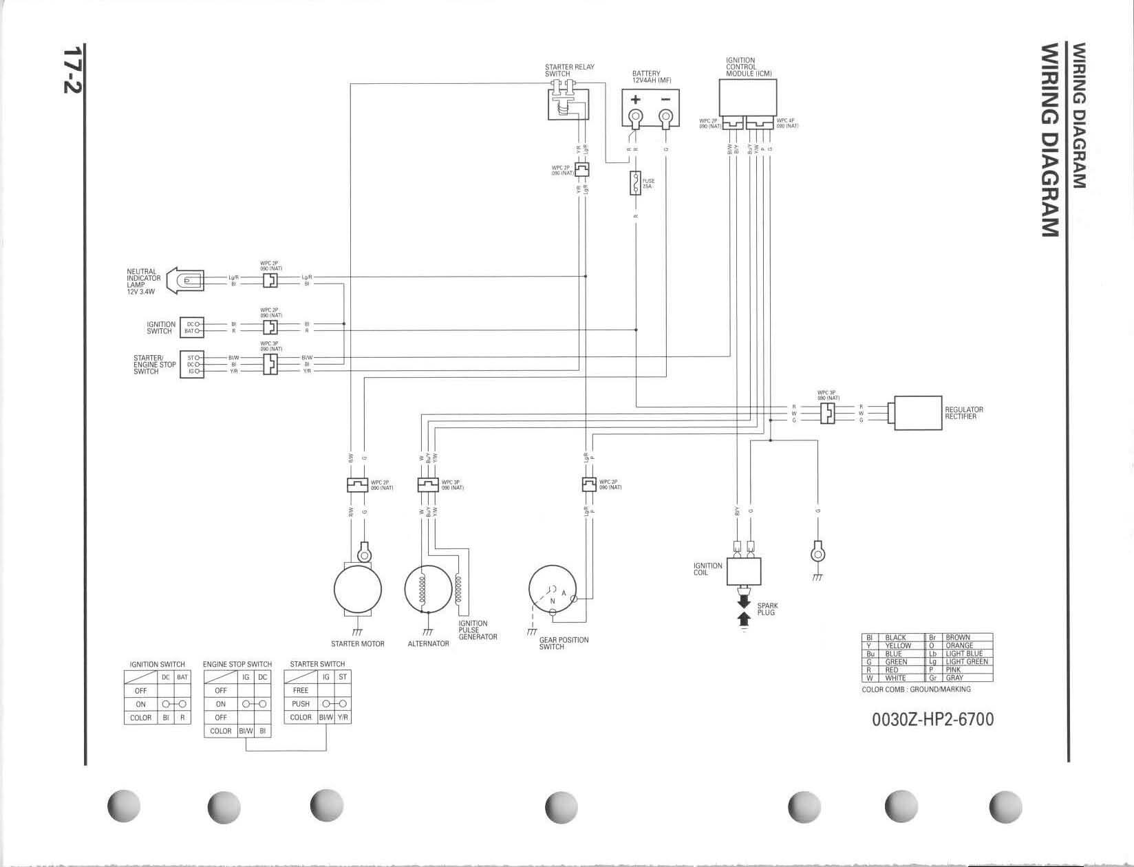 2006 TRX wiring | Honda TRX ATV Forum | Trx 90 Wiring Diagram |  | Honda TRX ATV Forum
