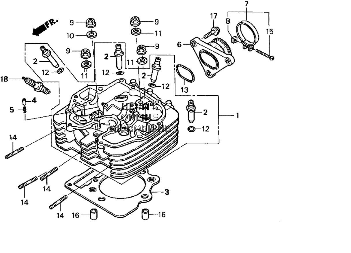 400ex timing, PLEASE HELP | Honda TRX ATV Forum | Trx400ex Engine Head Diagram |  | Honda TRX ATV Forum