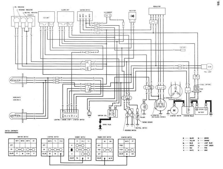 88 Trx 300 Wiring Diagram - Wiring Diagram